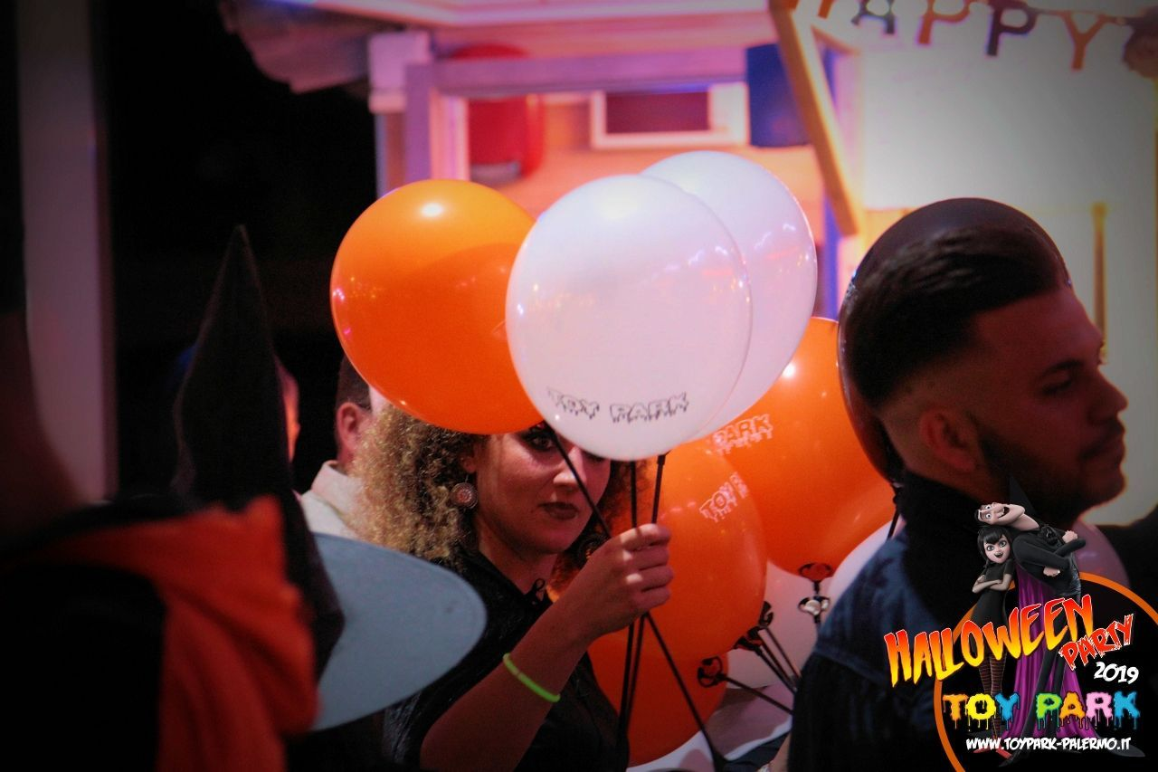 Halloween Party 2019, parco divertimenti Toy Park