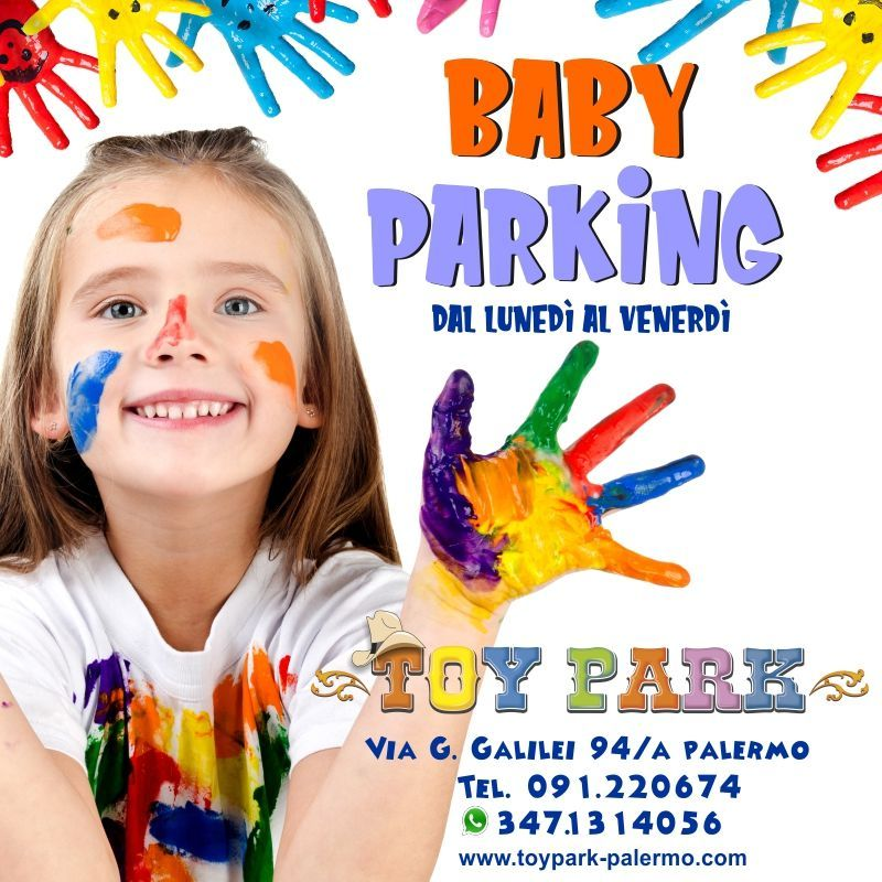 Baby Parking al Toy Park, parco divertimenti Toy Park Palermo