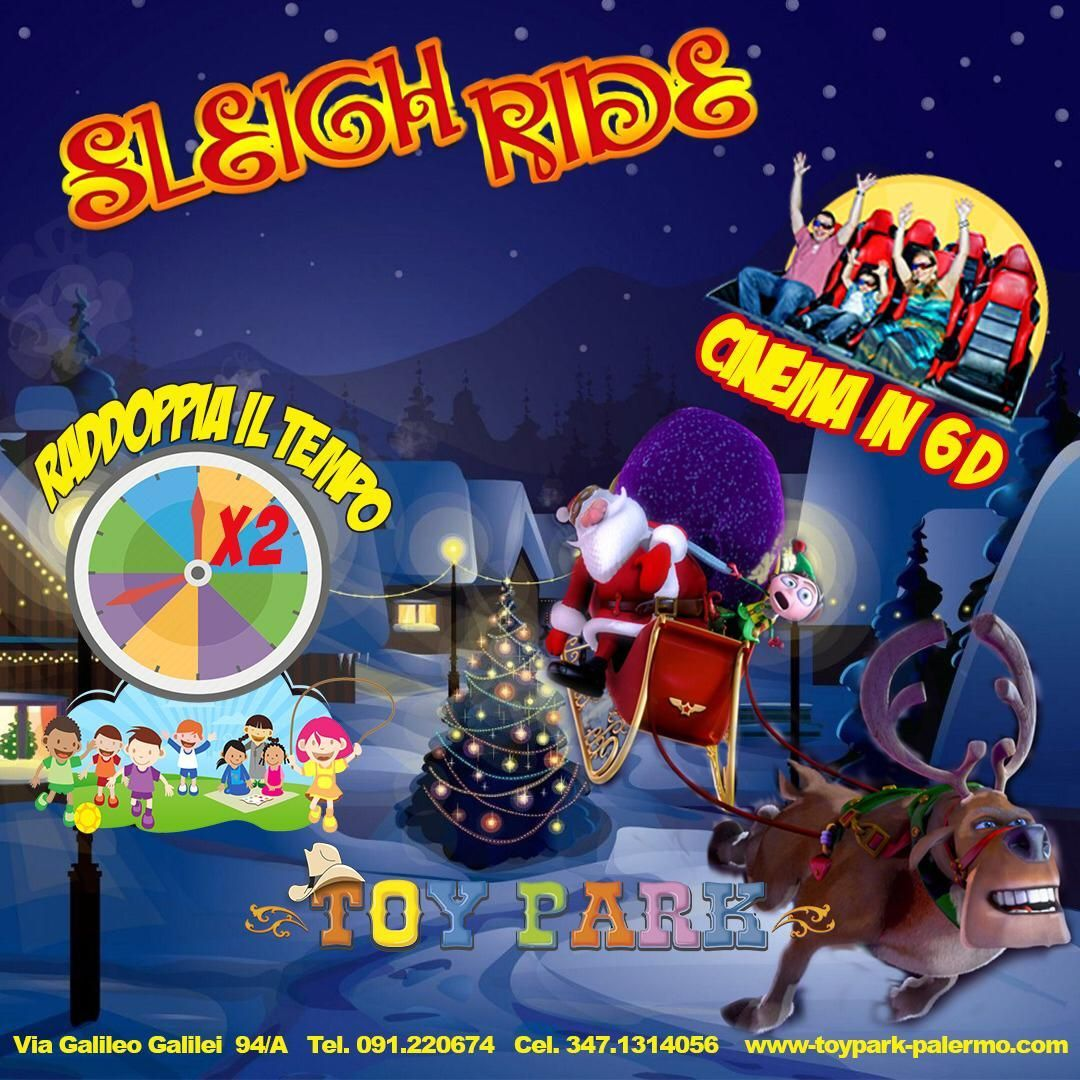 Sleigh Ride, parco divertimenti Toy Park Palermo